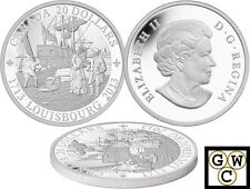 2013 '300th Anniversary of Louisbourg' Proof $20 Silver Coin .9999 Fine (OOAK)