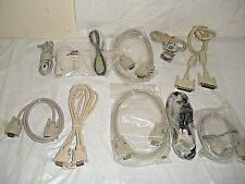 lot of PC Computer VGA Cables and Misc. Various External Wires LOT