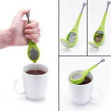 Flavor Total Tea Infuser Measure Swirl Steep Stir Strainer Filter Teacup DIY CN