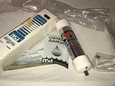 NEW NSA 25-I WATER FILTER TREATMENT UNIT BACTERIOSTATIC ORIGINAL BOX NOS MANUAL