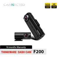 Thinkware F200 1080p Full HD Front + Rear Car Accident Dash Camera DVR Wifi 32GB