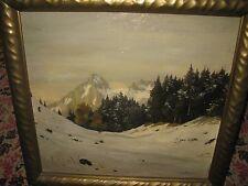 PROBST Ludwig,  *1864 Verschneite Gebirgslandschaft