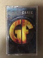 GOREFEST - Erase 1994 CASSETTE Tape US Version NUCLEAR BLAST RECORDS +BONUS