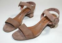 TAMARIS Gr 40 Sandaletten Sandalen Absatz high heels Silber
