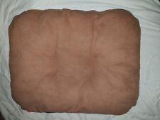 coussin chien 31*37cm coloris marron