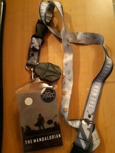 STAR WARS THE MANDALORIAN LANYARD KEYCHAIN  - BRAND NEW