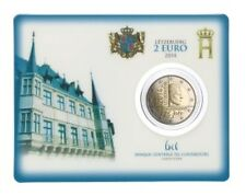 "Luxemburg 2 euro "" INDEPENDENCE"" 2014 BU Coincard Commemorative -In Stock!"