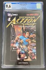 ACTION COMICS #1 CGC 9.6 NEW 52 RRP RETIALER INCENTIVE EDITION VERY HARD TO FIND