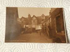 @ POSTCARD - WHITE HORSE CLOSE - EDINBURGH - SCOTLAND - 1923 (G)
