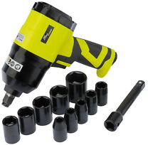 """DRAPER Storm Force Composite Air Impact Wrench Kit (1/2"""" Square Drive) 83422"""