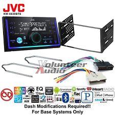 JVC KW-X830BTS Double Din Media Player Car Radio Install Kit Bluetooth NO CD