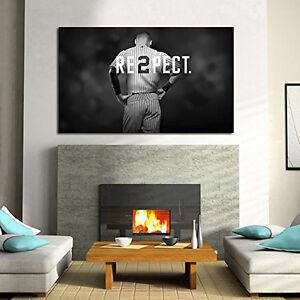 Derek Jeter 36 x 20 Re2Pect @ Yankee Stadium - Final Season Salute Re2pect