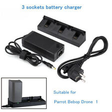 3 Sockets Multi-Battery Charger Fast Speed For Parrot Bebop Drone 1 Toy Parts AU