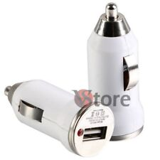Cargador Mini Para Los Coches Usb Blanco Samsung Galaxy S GT-i9000 i9001 Plus