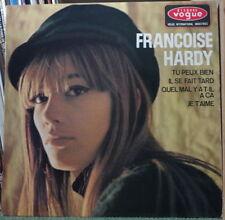 FRANCOISE HARDY TU PEUX BIEN FRENCH EP DISQUES VOGUE 1965