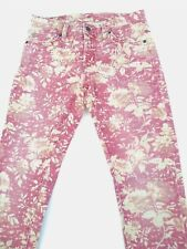 Ralph Lauren Denim Supply Skinny Faded Floral Jeans Womens Tag 29/32