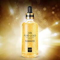 24K Gold Anti Wrinkle Anti-age Essence Liquid Moisturizing Brighten Skin Care
