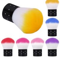 Nail Dust Clean Brush For Acrylic & UV Gel Nail Art Manicure Pedicure Brush Tool