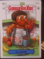 Garbage Pail Kids 2007 All-New Series ANS 7 #17a O.J. Jose NrMint-Mint