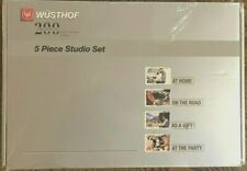 NEW WUSTHOF Classic 5 piece Studio Knife Block Set #9395