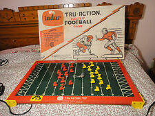 Vintage Tudor Tru Action Electric Football Game W/ Box 1950s 1960s