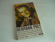 Hermann Prey , artone 4er CD Set mit Booklet in unverbrauchtem Zustand.