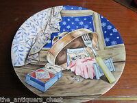 "Haviland Limoges ""A Visit from Saint Nicholas"" collector plate, 9 1/2"" diam[am5]"