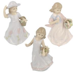Lesser & Pavey Floral Flores Porcelana Figurita LP15103