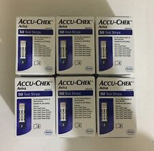 ACCU-CHEK Aviva Strisce di prova 50 x 6 scatole (tutti insieme 300 Strisce) Exp-12/2019
