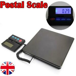50KG/2g Digital Postal Platform Scale Commercial Balance Shipping Weighing UK