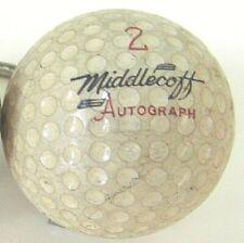 Middlecoff SIGNATURE LOGO GOLF BALL #1 Wilson USA