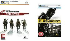 operation flashpoint red river & dragon rising new&sealed