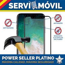 Protector Cristal Vidrio Templado para Apple Iphone X con Borde Negro