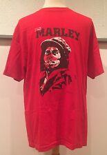 vtg Vintage Zion Rootswear 2003 Bob Marley Band Red Reggae T Shirt Size XL