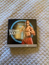 Insanity Max :30 dvd set Shaun T Exercise Workout Fitness DVDs RRP £50