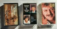 Country Music Cassette Tapes - Best Of Marlboro/Conway Twitty/Joe Diffie