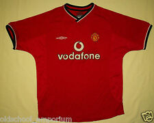 Manchester United / 2000-2002 Home - UMBRO - JUNIOR Shirt / Jersey. MB, 146cm