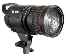 Mettle LED Fresnel Studio lámpara el-600 F, 6000 LM con Fresnel-dolo lente Spot