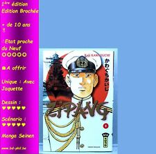 Manga, Seinen, Zipang, 1, Kawaguchi, Kana, EO, 2005, EN, avec Jaquette