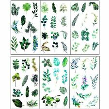 6Pcs Leaves Resin Sticker Epoxy Resin Frame Fillers Mold Material Jewelry Making