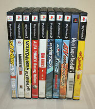 Lot 10 Playstation 2  Assorted Video Games