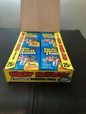 Wacky Packages 1980 Box 3rd Series with 36 Unopened Sticker Packs