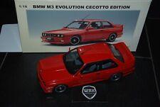 1/18 BMW M3 E30 EVO CECOTTO RED 70566 Autoart in box SEE INFO SUPERB