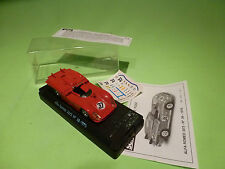 SOLIDO  1:43  ALFA ROMEO 33/3 LE MANS  NO = 37 IN BOX  -CAR  IN  GOOD  CONDITION