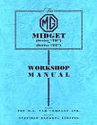Mg Td Tf Shop Manual Service Repair Book Workshop 1949-55 Mgtd Mgtf Book Restore