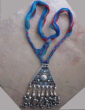 Vintage Retro Necklace Afghan Tribal Boho Gypsy Free People Festival Jewellery