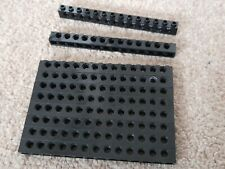 10 x LEGO TECHNIC 1x14 BRICKS WITH 13 PEG HOLES BLACK 32018 ( ALSO OTHER COLOURS