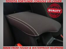 TOYOTA FORTUNER NEOPRENE  CONSOLE LID COVER (WETSUIT MATERIAL)OCT 2015 - CURRENT