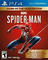 2020 New Marvel's Spider-Man PS4 Game of the Year Edition - Playstation 4