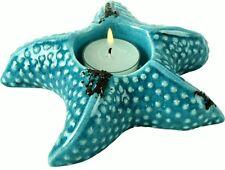 Bad Deko Türkis maritime deko kerzenständer teelichthalter aus keramik fürs